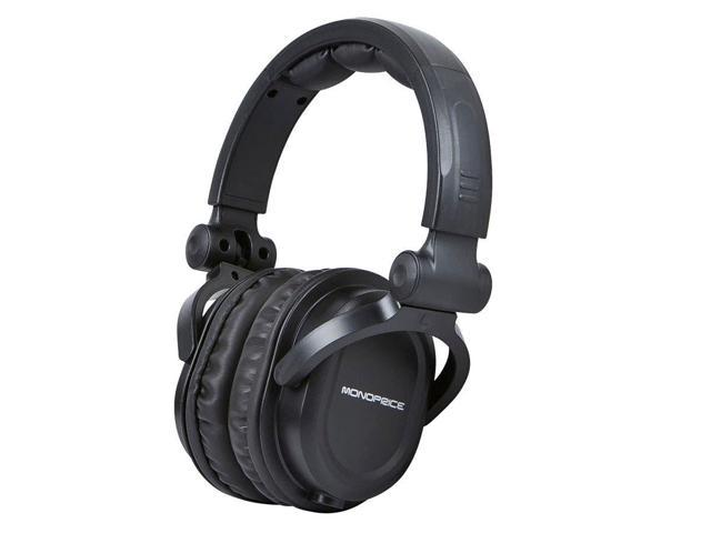 477dc7953b5 Monoprice Premium Hi-Fi DJ Style Over-the-Ear Pro Headphones With A