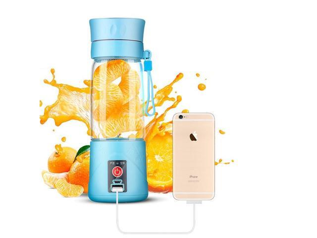 Portable 380ML Rechargeable Electric Orange Juicer Juice Cup Mini Automatic Cider Device Electric fruit Juicer Water