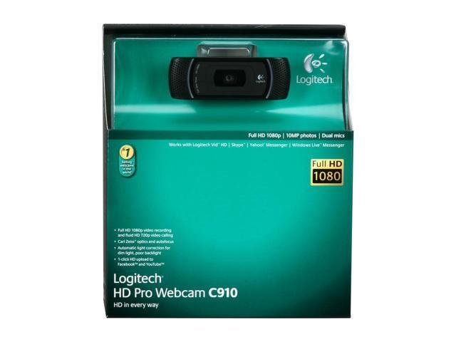 Logitech 1080p Professional Camera C910 Usb 2 0 Hd Pro Webcam