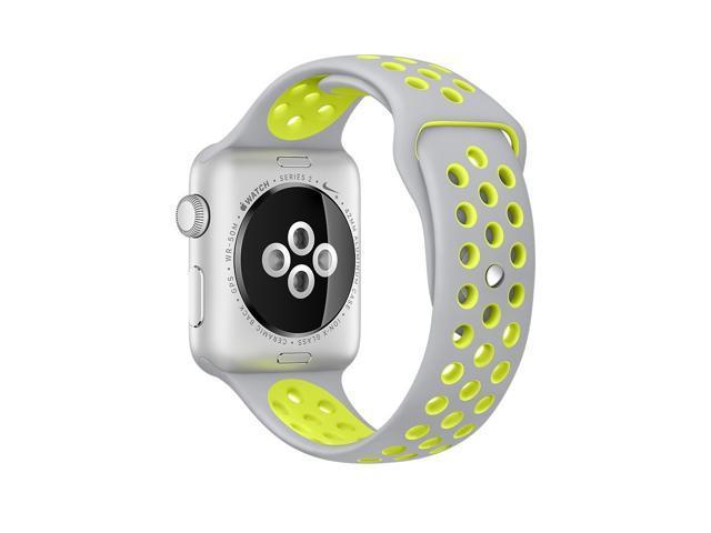 online aquí tienda del reino unido clientes primero Apple Watch Series 2 Nike+ 38mm Silver Aluminum Case with Flat ...
