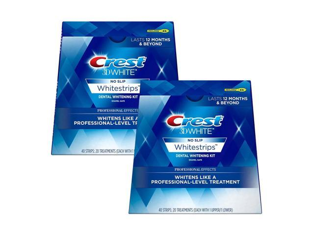 Crest 3d White Professional Effects Teeth Whitening Strips Kit Twin