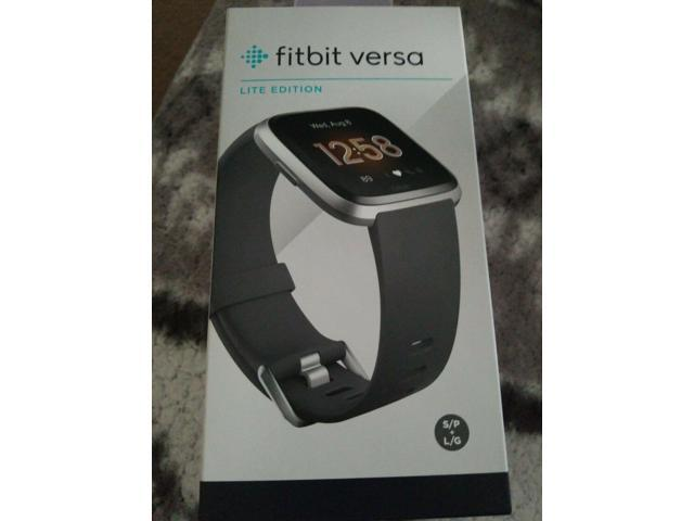 Used - Very Good: Fitbit Versa Lite Edition Smartwatch with S/L ...