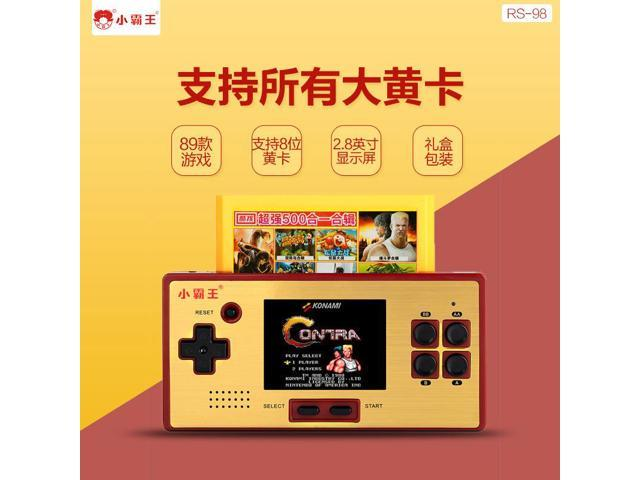 Rs98 Handheld Game Machine Classic Nes Games Nes FC Mini Psp Card NES  Family Computer TV Game - Newegg com