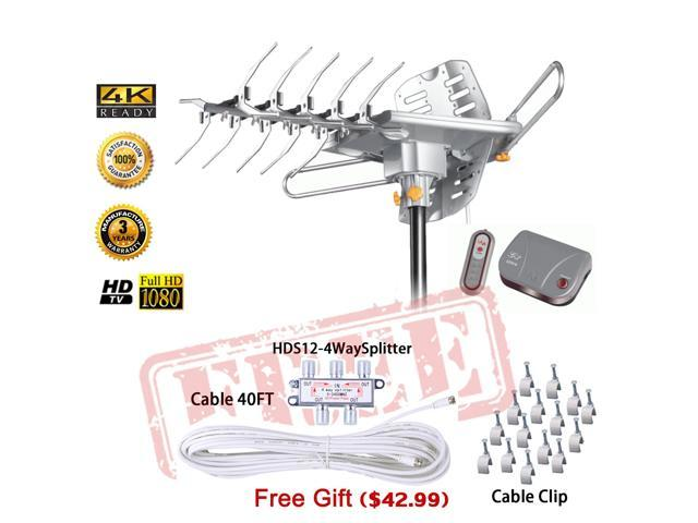 LAVA Outdoor UHF//VHF HDTV Antenna HD-2605