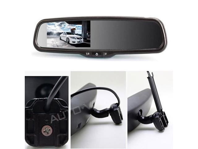 Safety Car Back Seat Baby View Mirror Observation Mirror Control Light KZ
