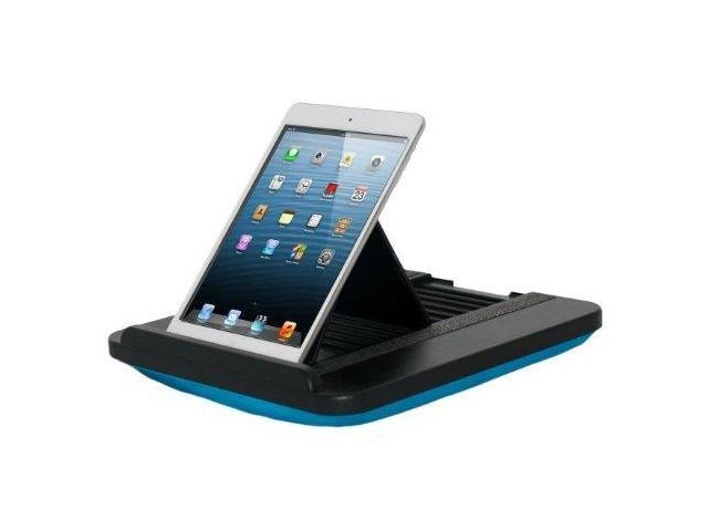 Prop N Go Slim Blue Ipad Pillow Stand Lap Desk With 14 Adjustable Angles For Ipad Air Ipad Mini Ipad Pro Macbook Air Pro Surface Kindle