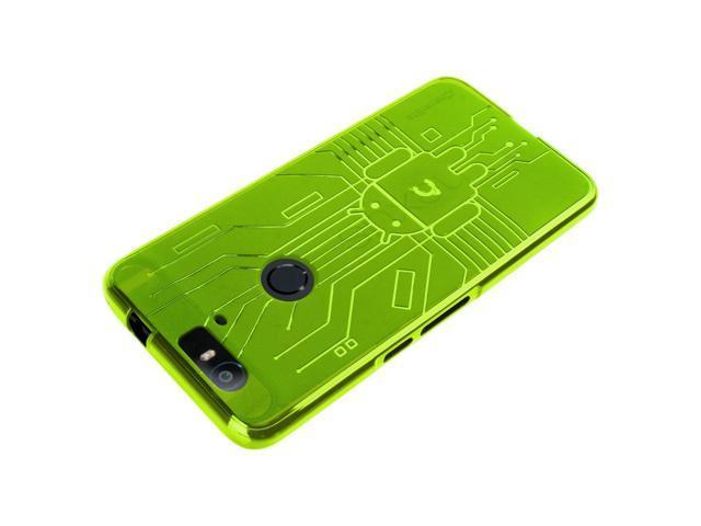 new arrival 55aaa a9c9b HUAWEI Nexus 6P Case, Cruzerlite Bugdroid Circuit Case Compatible for  HUAWEI Nexus 6P - Retail Packaging - Green - Newegg.com