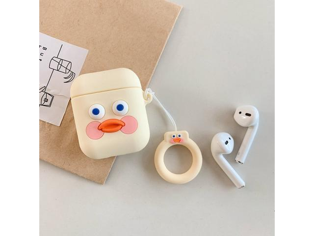 4f8e8f4c30c7 Cute Cartoon Earphone Case for Airpods 2 Cover Soft Silicone Slim Earphone  Cover for Airpods 1 Case Bag Protective Strap Cases - Newegg.com