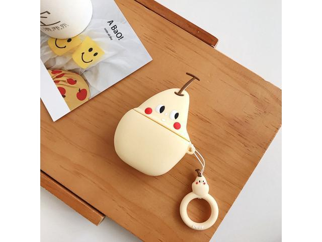 3d Silicone Earphone Case For Airpods 2 Case Cute Cartoon Fruit