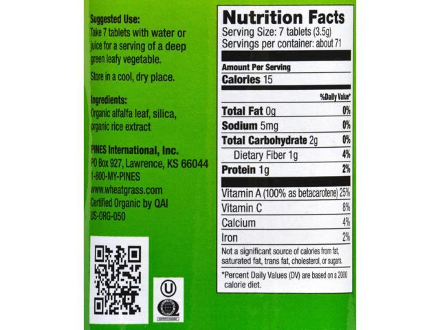Pines International Alfalfa - Organic
