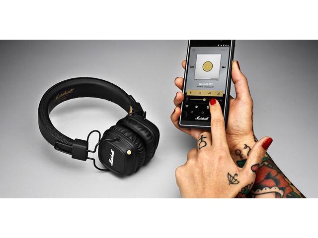 Marshall Major II Bluetooth On-Ear Stereo Headphones (Black) - Newegg ca