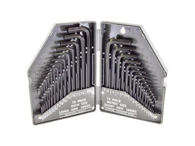 OMP Pro-Shop Hex Wrench Set .050-3//16