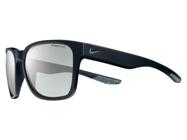 5144bf9217f1 Nike SB Recover Sunglasses Matte Black Gunmetal Frame Smoke Silver Flash  Lens