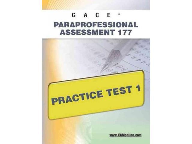 Gace Paraprofessional Assessment 177 Practice Test 1 Teacher
