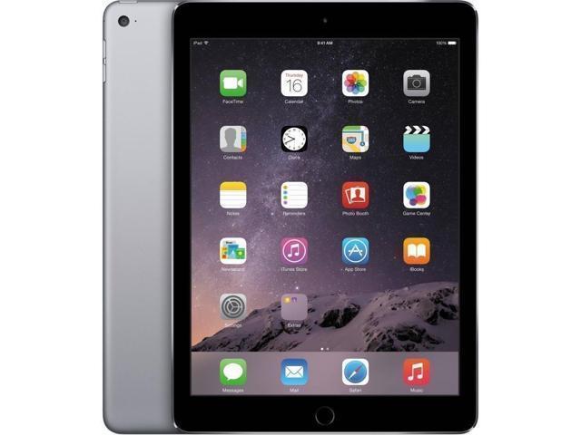Apple iPad Air 2 MH2U2LL/A 16GB, Wi-Fi + Cellular, Space Gray