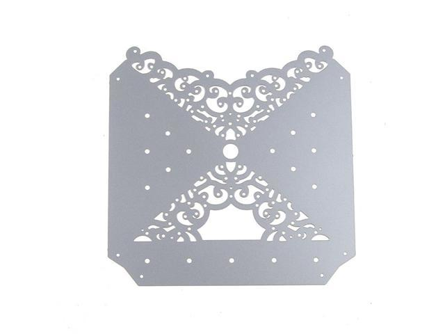 Party Ribbon framed Metal Cutting Dies For Scrapbooking Card Craft Decor VGCA