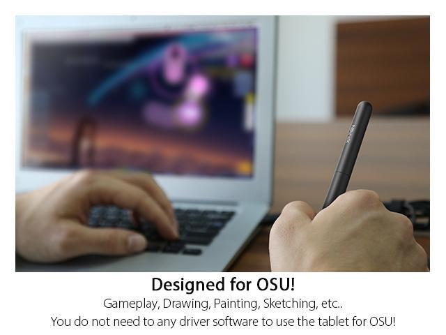 XP-Pen StarG430S 4 x 3 inch Ultrathin Digital Tablet Graphic Drawing Tablet  Drawing Pen Tablet for OSU with Battery-free stylus- designed! Gameplay  -