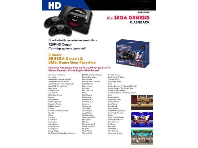 Sega Genesis Classic Game Console 85 in 1 (2017 HDMI out Put) - Newegg com