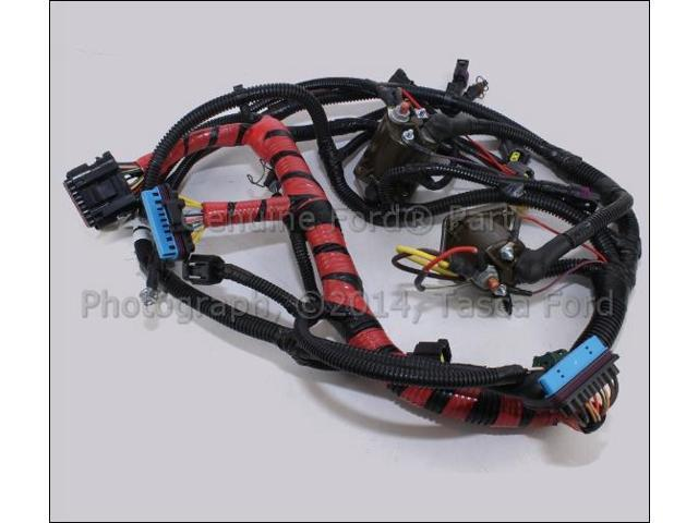 oem main engine wiring harness ford excursion f250 f350 f450 f550 sd rh newegg com ford f350 wiring harness diagram ford f350 wiring harness