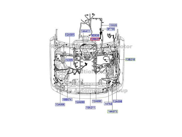 oem main engine transmission wiring harness 08 10 f250 f350 f450 rh newegg com 2004 f350 wiring harness 2004 f350 wiring harness