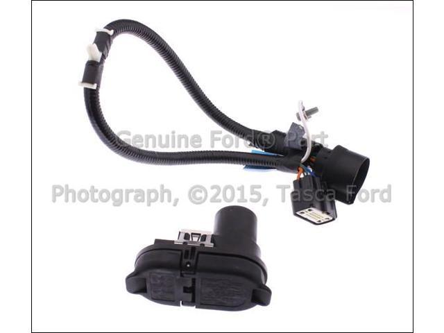 OEM Trailer Hitch Tow Bar Wiring Harness 2009-2011 Ford F150 ... on f150 trailer wiring diagram, ford trailer plug harness, f150 wiring schematic, f150 trailer wiring plug,