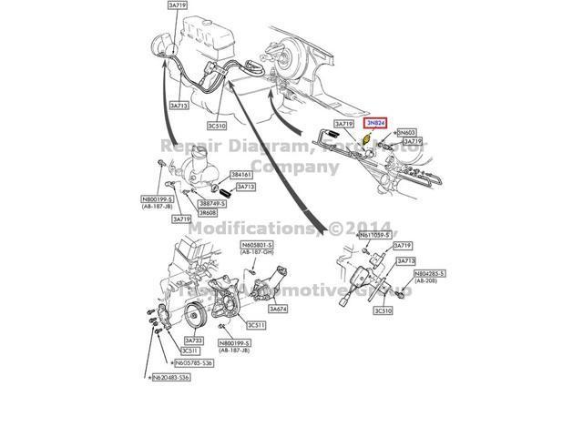 Oem Power Steering Check Valve Windstar Taurus Ranger Continental