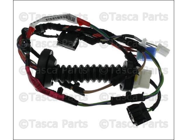 oem mopar rh or lh rear door wiring harness dodge ram 1500 2500 rh newegg com Dodge Ram Radio Wiring Dodge Wiring Harness Diagram