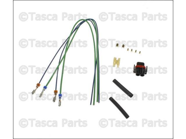 oem mopar 2 way wiring harness 1999