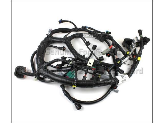 A9Y4_1_20180309751031490 oem 6 0l v8 engine wire harness ford e350 econoline e450 4c2z