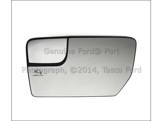 Oem Lh Drivers Side Mirror Glass 2011 2012 Ford F150 W Power Fold
