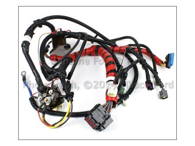 ford e series 7 3l v8 oem injector wire harness xc2z 12b637 ea Wiring Harness On 7 3 Diesel ford e series 7 3l v8 oem injector wire harness xc2z 12b637