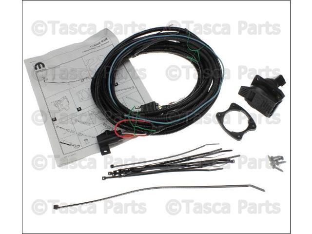 Strange Oem Mopar Trailer Tow Wiring Harness Kit 2002 09 Dodge Ram Wiring Digital Resources Arguphilshebarightsorg