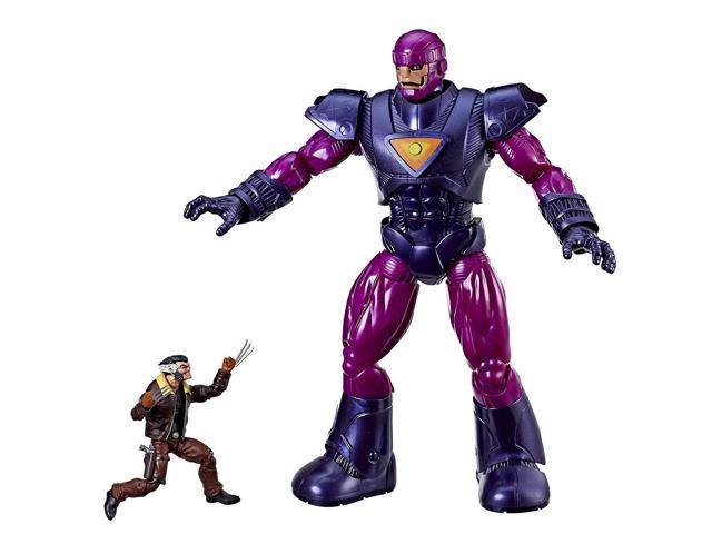 Electronic Marvel Legends Series Wolverine and Sentinel Amaz... Figure 2-Pack