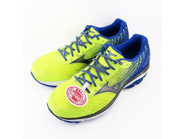 newest collection 0d59c 9f7c9 Mizuno AW Men's Wave Rider 19 Running Shoe (BLUE/YELLOW) - 29cm/ US11 /UK  10 - Newegg.com