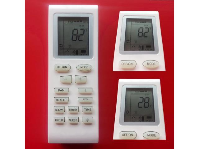 Replacement Air Conditioner Remote Control Model Yb1f2 Yb1f2f Yb1fa Yb1faf  Yb1f Yb1ff of Different Brands: Gree Lennox York Vivax Gree Ge Trane