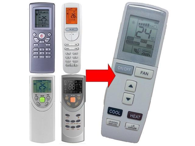 Replacement AC Remote Control for Gree Lennox York Vivax Gree Ge Trane  Electrolux York Lennox Blue Star Vivax Tosot Ge Carrier Inventor Condor ATC