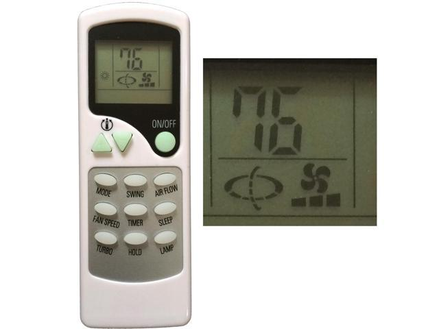 Replacement for QUIETSIDE Air Conditioner Remote Control ZHF/LT-01 -  Newegg com