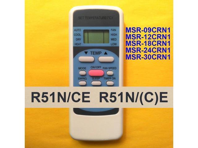 Télécommande pour ECOX MSR-09CRN1 MSR-12CRN1 MSR-24CRN1 AC Climatiseur