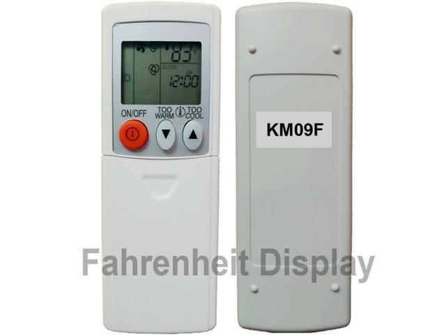 Mitsubishi Electric Remote >> Replacement For Mitsubishi Electric Mr Slim Air Conditioner Remote Control Km09f Display In Fahrenheit Only