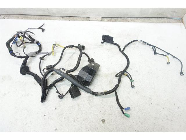 used 07 honda cr-v exl headlight wire harness wires wiring engine room  32200-