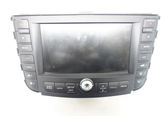 2008 Acura Tl Type S Navigation >> Used 07 08 Acura Tl Type S Gps Navigation Display Screen Unit