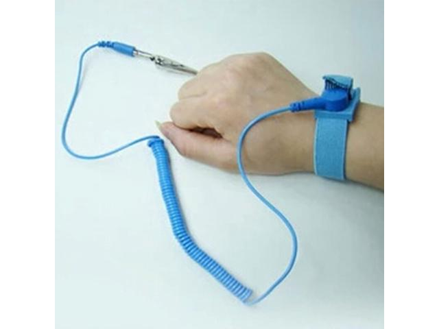 Anti Static ESD Wrist Strap Discharge Band Grounding Prevent Static ...