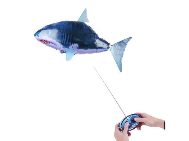 Air Swimmers RC Flying Remote Control Inflatable Fish Shark Blimp Balloon  Toy - Newegg com
