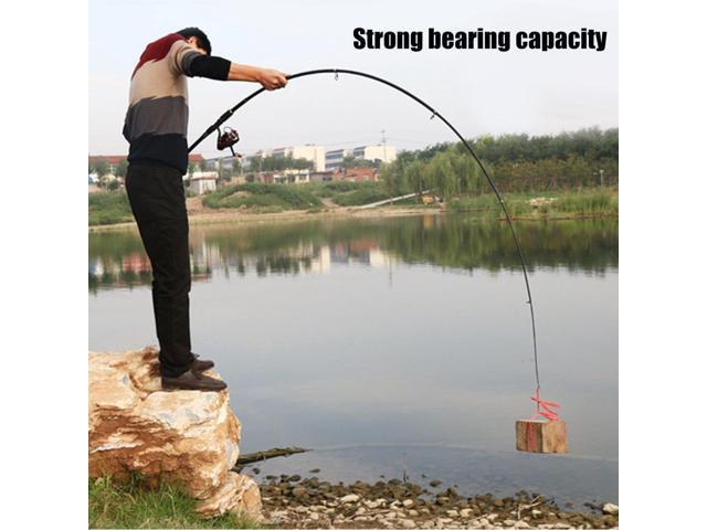Portable Telescopic Fishing Pole Outdoor Sea Fishing Tackle Fishing Rod  Tool black-grey & black - Newegg com