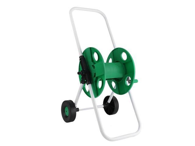 Portable Garden Water Pipe Holder Garden Hose Reels Cart Hose Pipe Storage  Holder Trolley Washing Cart With 2 Wheels - Newegg com