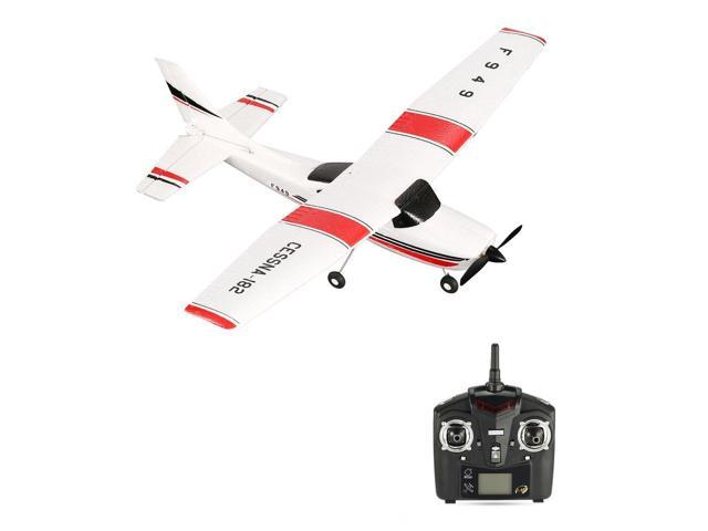 WLtoys F949 3 Channel 2 4GHz Radio Control RC Airplane Fixed Wing RTF  CESSNA-182 Plane Outdoor Drone Toy for Ages 14+ Children - Newegg ca