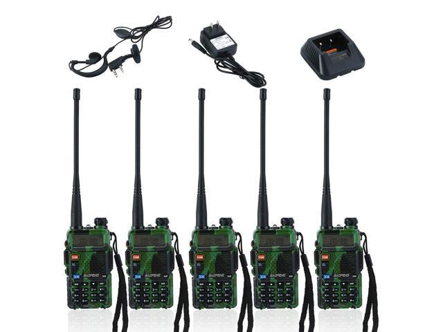 Universal Ham Walkie Talkie 5 PCS BAOFENG UV-5R Handheld Radio Interphone -  Newegg com