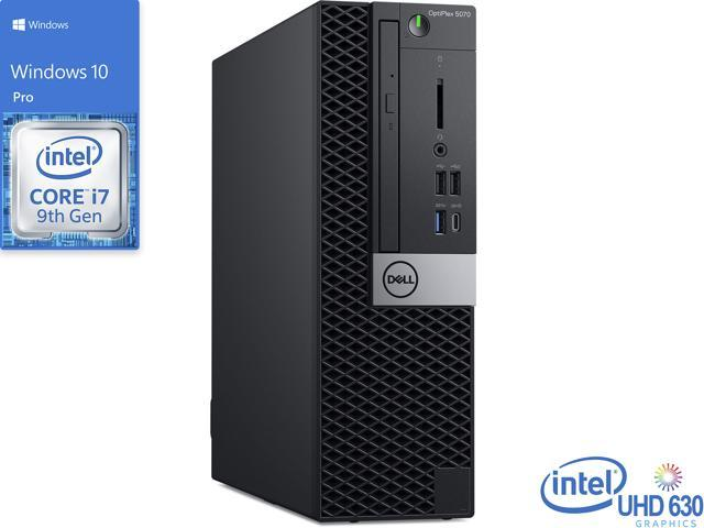 Dell OptiPlex 5070 Desktop, Intel Core i7-9700 Upto 4.7GHz, 16GB RAM, 512GB NVMe SSD + 1TB HDD, DVDRW, DisplayPort, Wi-Fi, Bluetooth, Windows 10 Pro