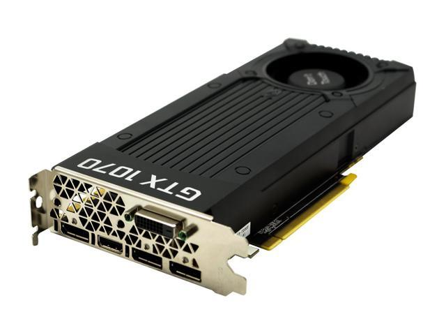 Used - Like New: NVIDIA GeForce GTX 1070 8GB GDDR5 Micron Memory Graphics  Card, PCI Express 3 0, DirectX 12, OpenGL 4 5, 1683 MHz - OEM - Newegg com