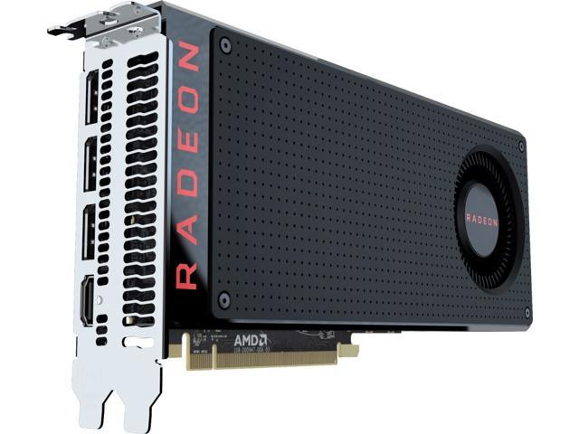 AMD Radeon RX 480 8GB GDDR5 Graphics Card, PCI Express 3 0, DirectX 12,  OpenGL 4 5 - OEM - Newegg com